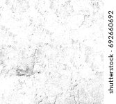 grunge texture black and white. ... | Shutterstock . vector #692660692