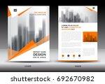 annual report brochure flyer... | Shutterstock .eps vector #692670982