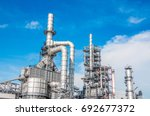 industrial zone the equipment... | Shutterstock . vector #692677372