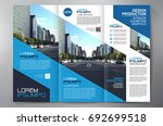 business brochure. flyer design.... | Shutterstock .eps vector #692699518