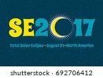 se2017 typography design for... | Shutterstock .eps vector #692706412