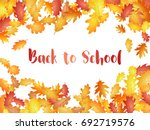 back to school background with... | Shutterstock .eps vector #692719576