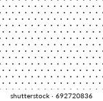 black dots pattern. vector... | Shutterstock .eps vector #692720836