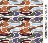 abstract color seamless pattern ... | Shutterstock .eps vector #692733445
