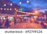 abstract blurred image of ... | Shutterstock . vector #692749126