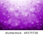 valentine's day background with ... | Shutterstock . vector #69275728