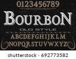 font.alphabet.script.typeface... | Shutterstock .eps vector #692773582