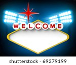 welcome sign | Shutterstock . vector #69279199
