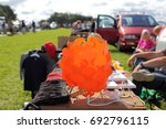 blurred photo of a car boot... | Shutterstock . vector #692796115