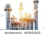 oil and gas refinery  industry | Shutterstock . vector #692832022