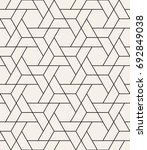 vector seamless pattern. modern ... | Shutterstock .eps vector #692849038