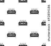 tubes icon black. single... | Shutterstock .eps vector #692854186