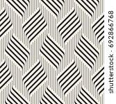 vector seamless pattern.... | Shutterstock .eps vector #692866768