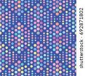 vector color dot pattern.... | Shutterstock .eps vector #692871802