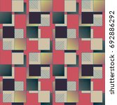 abstract color seamless pattern ... | Shutterstock .eps vector #692886292