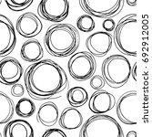 Hand Drawn Scribble Circles....