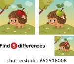 find differences education game ... | Shutterstock .eps vector #692918008