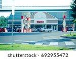 quakertown  pennsylvania   aug...   Shutterstock . vector #692955472