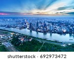 ho chi minh city  aerial view | Shutterstock . vector #692973472