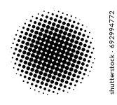 halftone circles  vector... | Shutterstock .eps vector #692994772