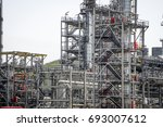 industrial zone the equipment... | Shutterstock . vector #693007612