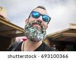 amsterdam  the netherlands  ... | Shutterstock . vector #693100366