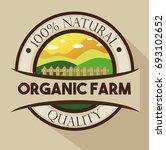 organic farm logo | Shutterstock .eps vector #693102652