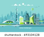 green energy and eco friendly... | Shutterstock .eps vector #693104128