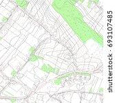 topographic map background... | Shutterstock . vector #693107485