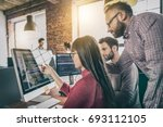 developing programming and... | Shutterstock . vector #693112105
