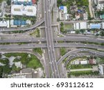 road traffic in city at... | Shutterstock . vector #693112612