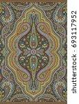 seamless paisley indian motif | Shutterstock . vector #693117952