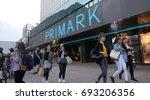 berlin  germany   circa july ... | Shutterstock . vector #693206356