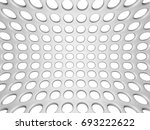 white elegant doted wall... | Shutterstock . vector #693222622