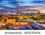 gainesville  florida  usa... | Shutterstock . vector #693235636