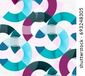 colorful rings on grey... | Shutterstock .eps vector #693248305