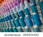 multicolor sewing threads... | Shutterstock . vector #693251452
