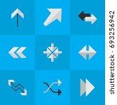 vector illustration set of... | Shutterstock .eps vector #693256942