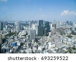 tokyo landscape roppongi and...   Shutterstock . vector #693259522