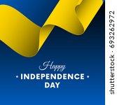 banner or poster of ukraine... | Shutterstock .eps vector #693262972