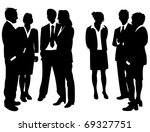 business people | Shutterstock .eps vector #69327751