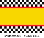racing flags | Shutterstock .eps vector #693311518