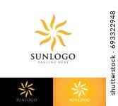 sun logo | Shutterstock .eps vector #693322948
