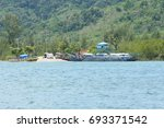 krabi  thailand   march 11 2014 ...   Shutterstock . vector #693371542