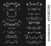 ornaments and decorative...   Shutterstock . vector #693382288