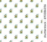 acarus pulverizer pattern in...   Shutterstock .eps vector #693386356