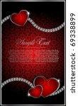 vector background on  valentine'... | Shutterstock .eps vector #69338899