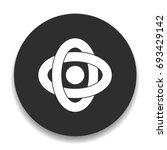 atom icon | Shutterstock .eps vector #693429142