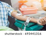 transfusion blood donation... | Shutterstock . vector #693441316