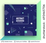 abstract avangarde retro... | Shutterstock .eps vector #693465706